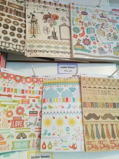 Studio BBG Blow Out Sale - KaiserCraft Sticker Sheets
