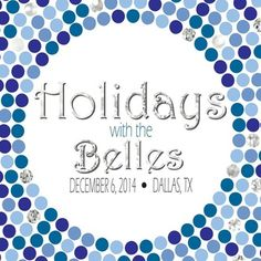 Holidays with the Belles. Dec. 6, 2014. Dallas, TX.