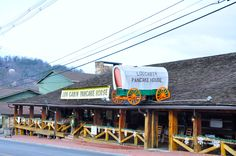 Log Cabin Pancake House - You will enjoy your breakfast at this Gatlinburg restaurant!