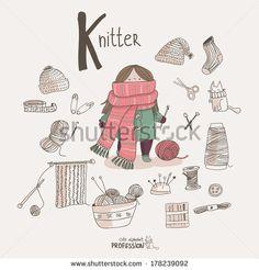 Alexandra Dikaya - K for Knitter