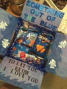 Something Out of the Blue   DIY Valentines Day Gift Ideas for Him
