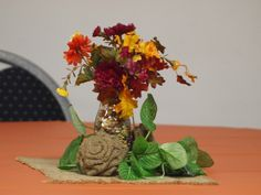 Fall Centerpiece Decoration Moms Saving Money, LLC