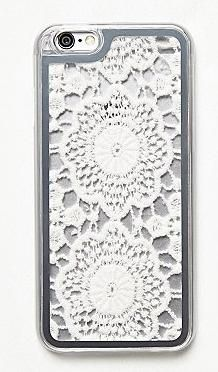 iPhone cases for the fashion girl! Free People crochet iPhone 6 case