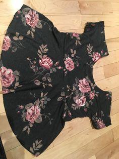 Tamara peplum top by annelaine patterns Floral Tops, Peplum, Rompers, Patterns, Sewing, Dresses, Women, Fashion, Block Prints