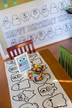 """Photo 40 of 49: Silly Monsters / Birthday """"Friendly Monster Bash""""   Catch My Party--monster"""