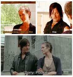 Carol & Daryl. I cannot possibly love this relationship more. <3