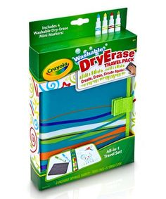 Loving this Dry-Erase Travel Pack & Marker Set on #zulily! #zulilyfinds