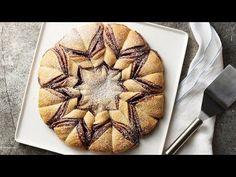 Nutella™-Raspberry Crescent Snowflake Recipe - Pillsbury.com