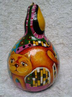 Gato III 14cmx19cm sold
