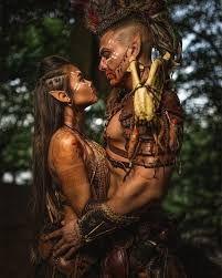 Image result for fantasy wood elves couple