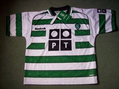 Sporting Lisbon BNWT 2001/02 shirt added to website