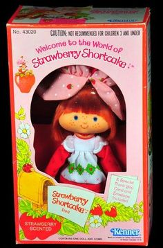 My favorite eighties toy line of all time...Strawberry Shortcake!  :o)
