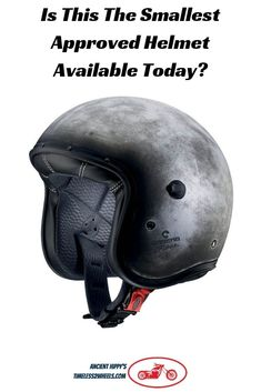 The Caberg Freeride was my pick of the top retro motorcycle helmets available. It weighs in at just 800 grams and is the smallest shell I've ever seen. Compared to my other lids The Caberg is tiny Retro Motorcycle Helmets, Retro Helmet, Motorcycle Style, Riding Helmets, Biker Gear, Classic Bikes, Bicycle Helmet, Wheels, Bikers