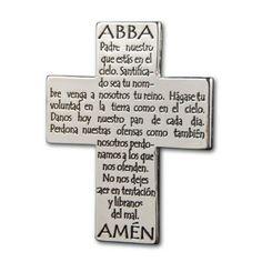 Cruz Recordatorio 'Padre Nuestro'
