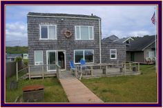 FOR SALE: Oceanfront home on 3 lots. 4789 Pacific Ave, Moclips, WA.  $410k.  MLS 653873.  **60 steps from deck to sand** OCEAN FRONT at it's Best! OCEAN VIEWS that will take your breath away! Situated in the darling beach town of Moclips, WA, near Seabrook and Ocean Shores. This is the true beach cabin of your dreams. 1 bedroom, sleeping loft, 1.5 baths.   3 parcels. 26' Ocean frontage. WOW.  Website http://4789pacificave.theoceaniscalling.com