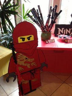Lego Ninjago Party by BrickDancer, via Flickr