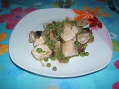 Bocconcini piselli e funghi. Scopri la ricetta: http://www.misya.info/2008/10/06/bocconcini-piselli-e-funghi.htm