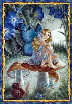 Shirley Barber fairies April
