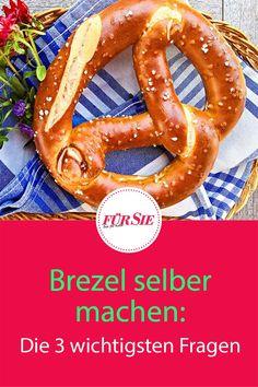 Was gehört zu einer typisch bayrischen Brotzeit, einem zünftigen Weißwurstfrühstück und zum Oktoberfest? Natürlich Brezel! Das leckere Laugengebäck ist aber nicht nur in Bayern auf der Wiesn beliebt, sondern hat überall im Land seine Fans: Wir klären die wichtigsten Frage rund um die Brez'n! #Brezel #brezn #bayerischerezepte #bayerischeküche #alpenküche #oktoberfest #biergarten #fuersiemagazin Comfort Food, Onion Rings, Baking, Ethnic Recipes, Fondue, Cupcakes, Simple, Coleslaw Recipes, Kaiserschmarrn