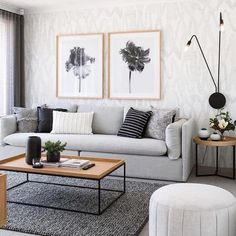 nice One Simple Trick for Gorgeous Living Room Color Schemes to Make Your Room C. nice One Simple Trick for Gorgeous Living Room Color Schemes to Make Your Room Cozy Unveiled The co Rugs In Living Room, Interior Design Living Room, Living Room Designs, Cozy Living, Modern Living Room Sets, Gray Couch Living Room, Living Room Wallpaper, Room Rugs, Nordic Living Room