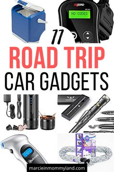 Best Road Trip Car Gadgets - Planning a road trip this spring or summer? You won't want to hit the road without these top car - Road Trip Packing, Road Trip Essentials, Road Trip Hacks, Packing Lists, Road Trip With Kids, Family Road Trips, Travel With Kids, Travel Items, Travel Gifts