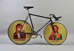 Iconography - part of bid for Olympics in Russia