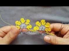 Two-row flashy crochet lace making for baby face cover … – Designs Creative Embroidery, Hand Embroidery, Crochet Flowers, Crochet Lace, Crochet Borders, Needle Lace, Lace Making, Knitted Shawls, Crochet Fashion