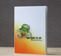 Sweet Stamp Shop~guest post dragon set birthday card