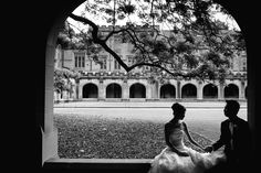 Klaire & Michael's Sydney uni Wedding