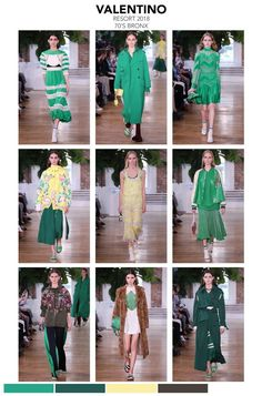 "VALENTINO 2018 collection ""70's Bronx""      The runway show was set in New York, NY. The collection, sporty and streetwise but influenced f..."
