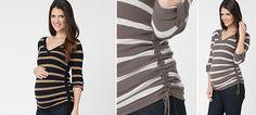 Veronica Streifen Pullover aus der Kategorie Strickjacken & Pullover von Mamarella - Details