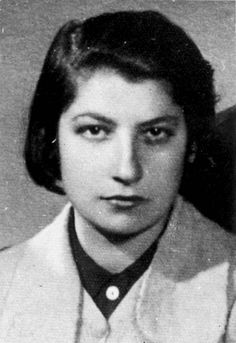 Poland, Zivia Lubetkin, one of the leaders of the Warsaw Ghetto Uprising.    Woman Warrior and Woman of Valor