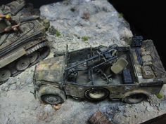 Tiger I 1/35 Scale Model Diorama