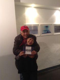 Il Maestro Franco Fontana e l'Artista Fukushi Ito.