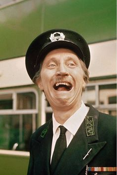 Blakey - On The Buses Love this guy been working for hiom many years keppp your head down pay your motgage fuk u when i leave lol British Tv Comedies, Classic Comedies, British Comedy, British Actors, Great Tv Shows, Old Tv Shows, Comedy Tv, Kids Tv, Vintage Tv