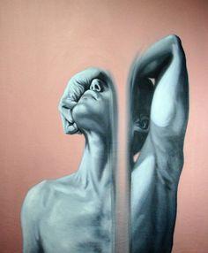 Eduardo Mata Icaza - Stream of Inspiration, mixed media, 2012