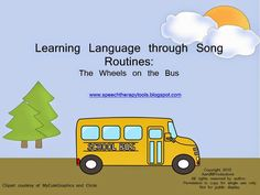 Repetitive children's songs with actions are a great way to learn language. Based on a concept presented by Maija Gulens, MS, CCC-SLP, at ...