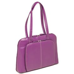 @Overstock - Bugatti Women's 15-inch Purple Laptop Tote Bag - Bring a burst of regal color to your business or casual wear with this versatile bag, designed with a 15-inch padded laptop pocket. Crafted with purple faux leather, this trend-setting bag includes interior and exterior pockets for optimal organization.  http://www.overstock.com/Luggage-Bags/Bugatti-Womens-15-inch-Purple-Laptop-Tote-Bag/9481293/product.html?CID=214117 $39.99