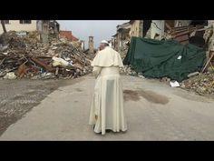 Media Ribs: Pope Francis visits Italy earthquake survivors