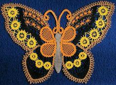 Vijf kleuren vlinder