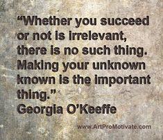 georgia okeeffe quote http://www.artpromotivate.com/2013/08/advantages-of-art-school.html