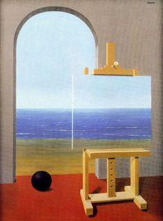 René Magritte La condition humaine