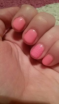 My new nail design. I bouth new neon rocklac. What do you think about it? :)