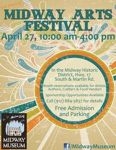 Midway Arts Festival on the @Janice Hansen Museum grounds!