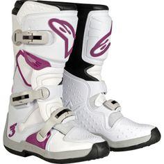 Dirt Bike Alpinestars Women's Stella Tech-3 Boots | MotoSport