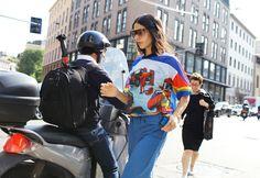 Gilda Ambrosio at Milan Fashion Week Spring 2016
