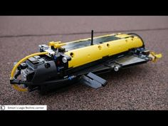 Lego Technic Submarine [MOC] - YouTube