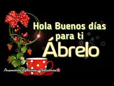 Hola buenos dias ábrelo este mensaje es para ti - YouTube Cute Good Morning Quotes, Morning Quotes Images, Good Morning Messages, Happy Birthday Notes, Happy Birthday Greetings Friends, Funny Baby Jokes, Good Morning In Spanish, Good Night Greetings, Christ Quotes