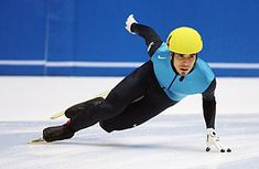 Apolo Ohno - the short track speed skating genius!