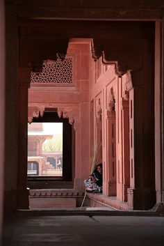 Fatehpur Sikri, Agra district, Uttar Pradesh, India. UNESCO World Heritage Site.